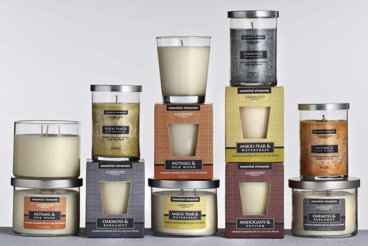 Kolekcja Essential Elements od Candle-lite