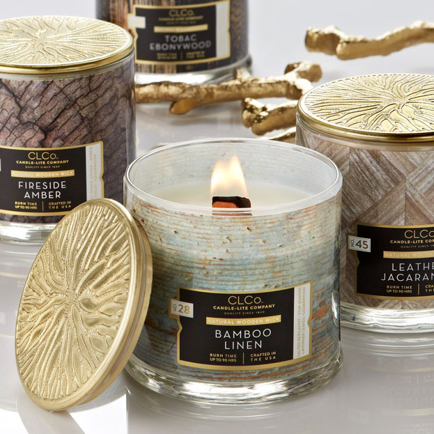 Meet the new: CLCo Candles Natural Wooden Wick premium candles collection is on!